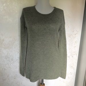 Autumn Cashmere Brand Hi Low Pullover Sweater